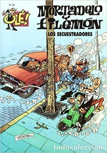 FOTO MORTADELO Y FILEMÓN Nº 59. LOS SECUESTRADORES (Tebeos y Comics - Bruguera - Mortadelo)