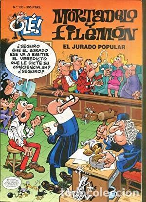 MORTADELO Y FILEMÓN Nº 133. EL JURADO POPULAR (Tebeos y Comics - Bruguera - Mortadelo)