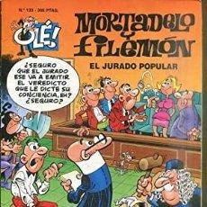 Tebeos: MORTADELO Y FILEMÓN Nº 133. EL JURADO POPULAR. Lote 219100156