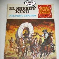Tebeos: EL SHERIFF KING, Nº 8, CARGAMENTO DISPUTADO, ED. BRUGUERA, AÑO 1975, 6D. Lote 219102025