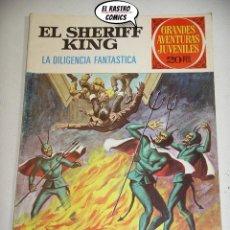 Tebeos: EL SHERIFF KING, Nº 64, LA DILIGENCIA FANTÁSTICA, ED. BRUGUERA, AÑO 1975, (A) 6D. Lote 219103658