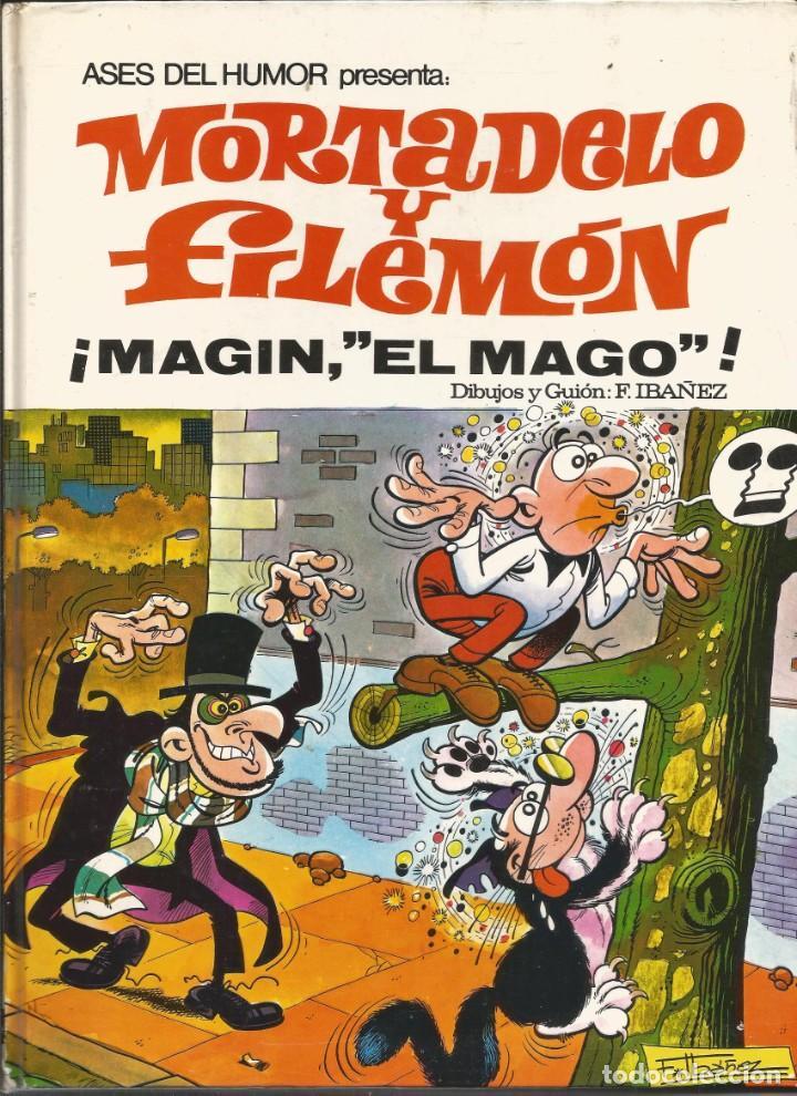 ASES DEL HUMOR Nº 12 MAGÍN, EL MAGO, DE MORTADELO Y FILEMÓN BUEN ESTADO (Tebeos y Comics - Bruguera - Mortadelo)