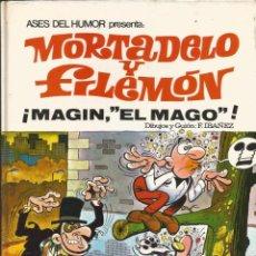 Tebeos: ASES DEL HUMOR Nº 12 MAGÍN, EL MAGO, DE MORTADELO Y FILEMÓN BUEN ESTADO. Lote 219185560