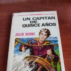 Tebeos: UN CAPITAN DE QUINCE AÑOS JULIO VERNE COLECCIÓN HISTORIAS SELECCIÓN BRUGUERA NÚMERO 6. Lote 219186718