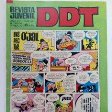 Tebeos: DDT REVISTA JUVENIL AÑO XX - NUM. 201 - III ÉPOCA (SIN USAR, DE DISTRIBUIDORA). Lote 219191028