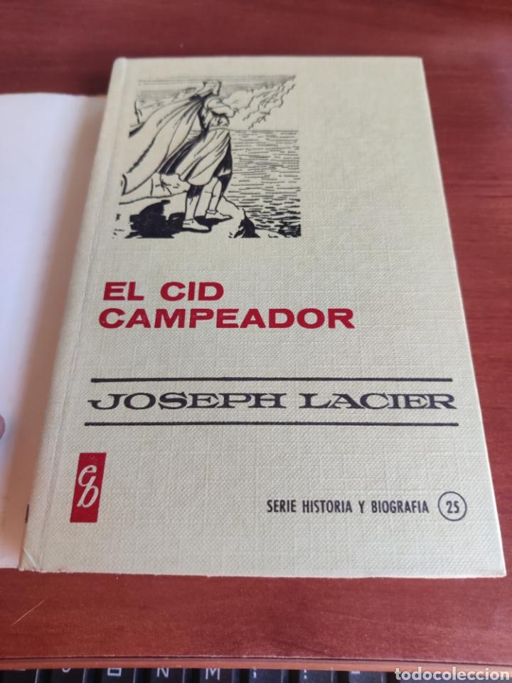 Tebeos: El cid Campeador joseph lacier colección historias selección bruguera número 25 - Foto 4 - 219191346