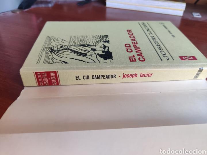 Tebeos: El cid Campeador joseph lacier colección historias selección bruguera número 25 - Foto 5 - 219191346