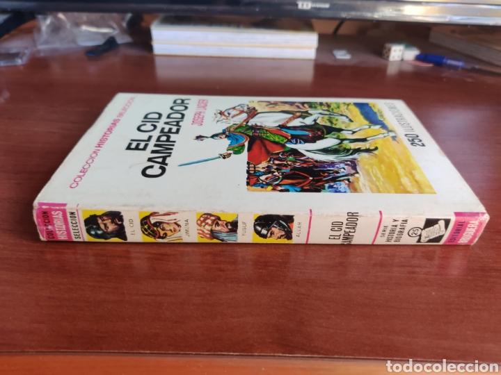 Tebeos: El cid Campeador joseph lacier colección historias selección bruguera número 25 - Foto 7 - 219191346