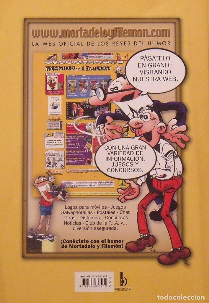 Tebeos: Mortadelo y Filemón. El embrollo matutino. Olé. Nº 110. Buen estado. 2011. 6a edición. - Foto 2 - 219193601