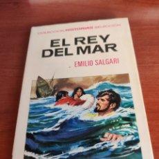 Tebeos: EL REY DEL MAR EMILIO SALGARI COLECCIÓN HISTORIAS SELECCIÓN BRUGUERA NÚMERO 7. Lote 219201886