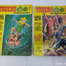 Tebeos: DOS TEBEOS TRUENO COLOR EXTRA Nº 6 Y Nº59 TERCERA EPOCA.. Lote 219202186