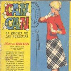Tebeos: CAN CAN Nº64. LA REVISTA DE LAS BURBUJAS, BRUGUERA. Lote 219207870
