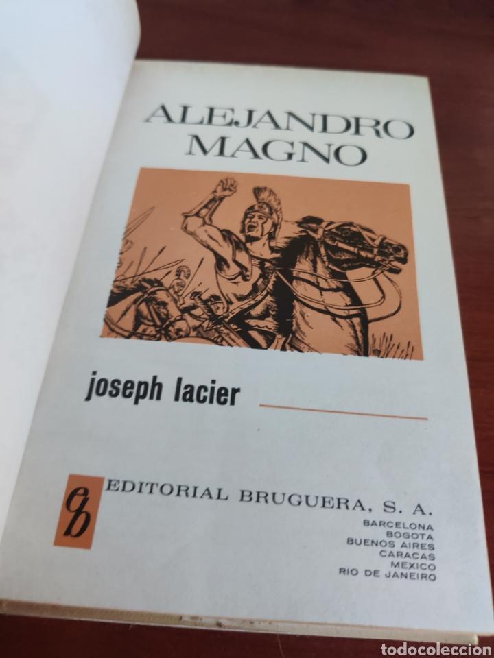 Tebeos: Alejandro Magno Joseph lacier colección historias selección bruguera número 30 - Foto 2 - 219209823