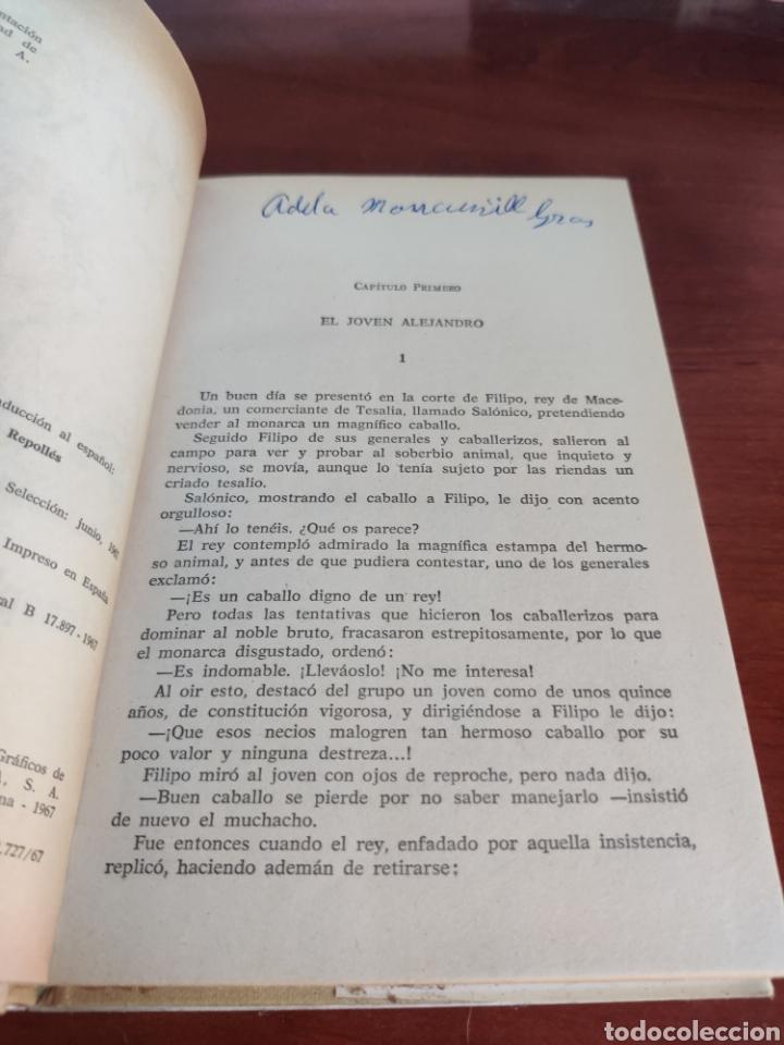 Tebeos: Alejandro Magno Joseph lacier colección historias selección bruguera número 30 - Foto 3 - 219209823