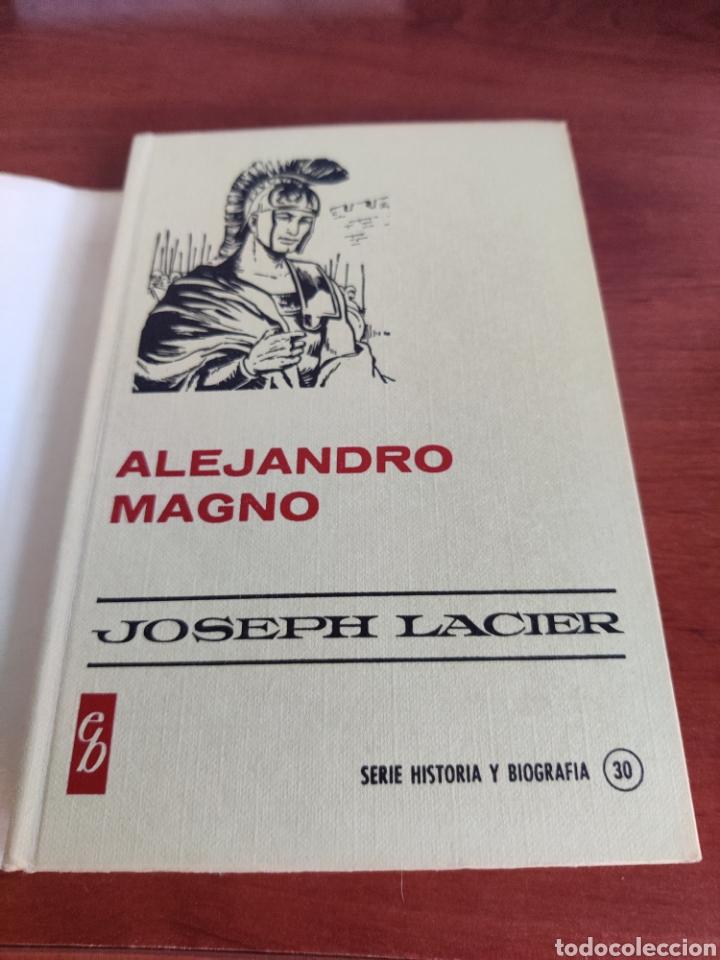 Tebeos: Alejandro Magno Joseph lacier colección historias selección bruguera número 30 - Foto 5 - 219209823