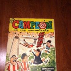 Tebeos: EL CAMPEÓN DE LAS HISTORIETAS N° 32 CON EL JABATO. Lote 219210282