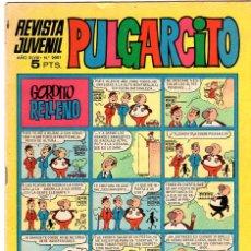 Tebeos: REVISTA JUVENIL PULGARCITO / NÚM 2001 / 8 SEPTIEMBRE 1.969. Lote 25692120