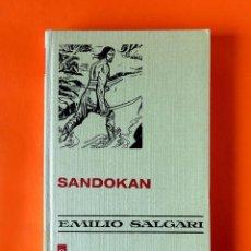 Tebeos: SANDOKAN / EMILIO SALGARI - HISTORIAS SELECCION Nº 1- 1ª EDICIÓN 1970 - BRUGUERA - LIBRO- COMIC. Lote 219268315