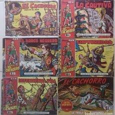 BDs: EL CACHORRO LOTE NºS 67, 106, 132, 133 Y 149 + 159 DE REGALO - ORIGINALES - ¡¡¡ VER FOTOS !!!. Lote 213005380
