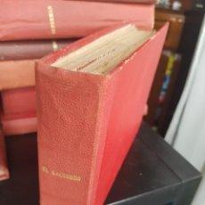Tebeos: LOTE 64 TEBEOS/CÓMIC TOMO ORIGINAL EL CACHORRO N 19 A 175 BRUGUERA 1952 ENCUADERNADO. Lote 219325532