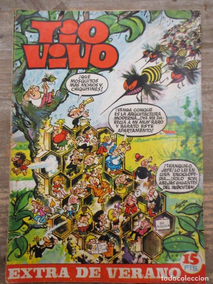 TIO VIVO EXTRA DE VERANO / 1970 / EDITORIAL BRUGUERA / (Tebeos y Comics - Bruguera - Tio Vivo)