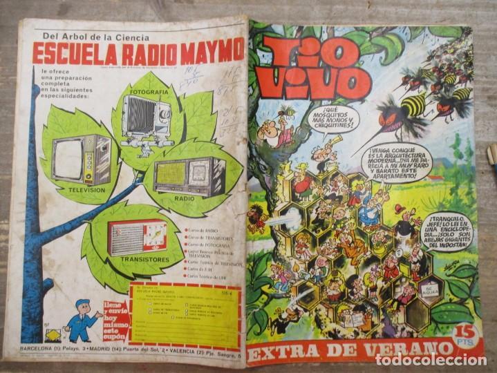 Tebeos: TIO VIVO EXTRA DE VERANO / 1970 / EDITORIAL BRUGUERA / - Foto 2 - 219415622