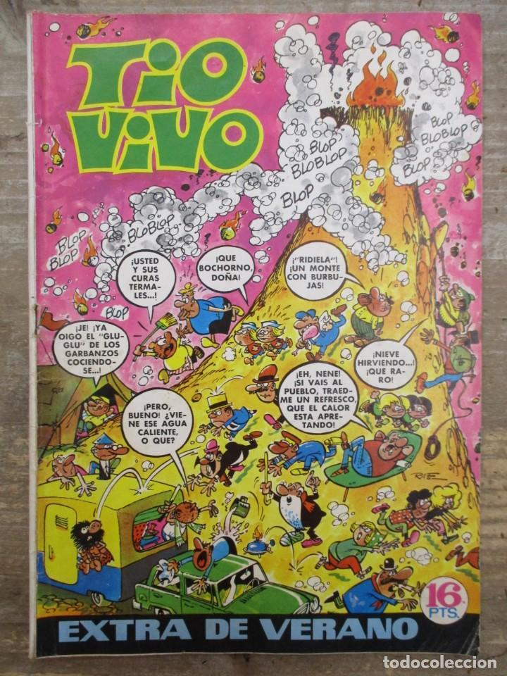TIO VIVO EXTRA DE VERANO / 1971 / EDITORIAL BRUGUERA / (Tebeos y Comics - Bruguera - Tio Vivo)
