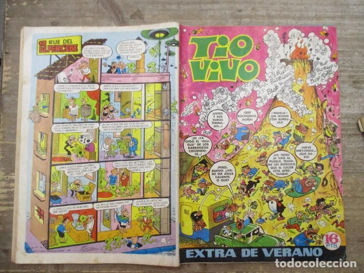 Tebeos: TIO VIVO EXTRA DE VERANO / 1971 / EDITORIAL BRUGUERA / - Foto 2 - 219415666