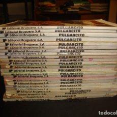 Tebeos: LOTE 23 PULGARCITOS EDITORIAL BRUGUERA. Lote 219443796