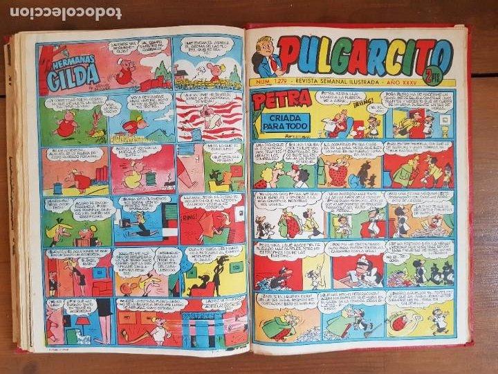 Tebeos: LOTE 13 TEBEOS/CÓMIC TOMO ORIGINAL DDT ALMANAQUE 1956 (2) PULGARCITO 1955 BRUGUERA I. DAN C. TRUENO - Foto 21 - 219586678
