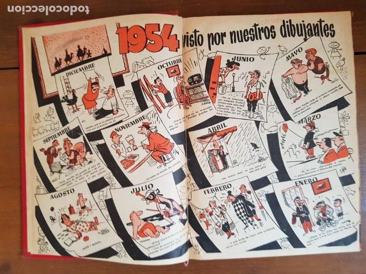 Tebeos: LOTE 19 TEBEOS/CÓMIC TOMO ORIGINAL DDT ALMANAQUE 1954 NAVIDAD (3) 1953 BRUGUERA ENCUADERNADO - Foto 5 - 219588477
