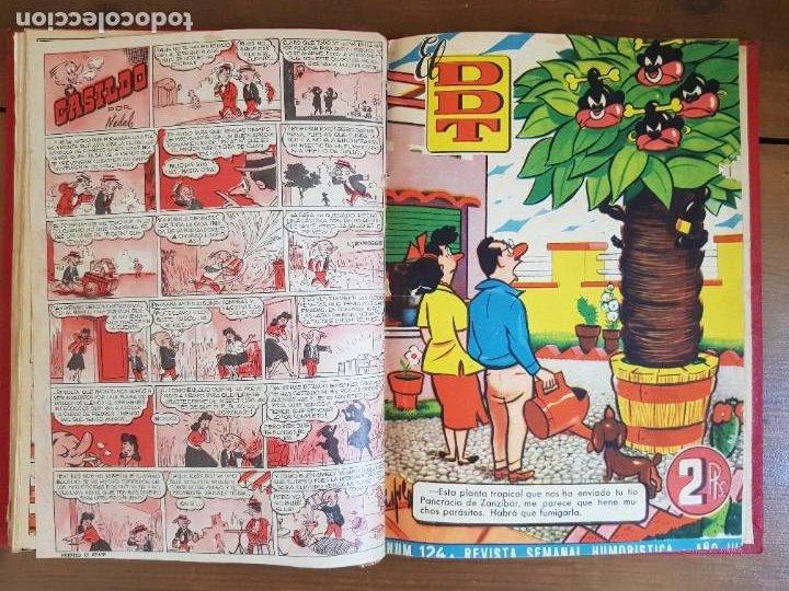 Tebeos: LOTE 19 TEBEOS/CÓMIC TOMO ORIGINAL DDT ALMANAQUE 1954 NAVIDAD (3) 1953 BRUGUERA ENCUADERNADO - Foto 14 - 219588477