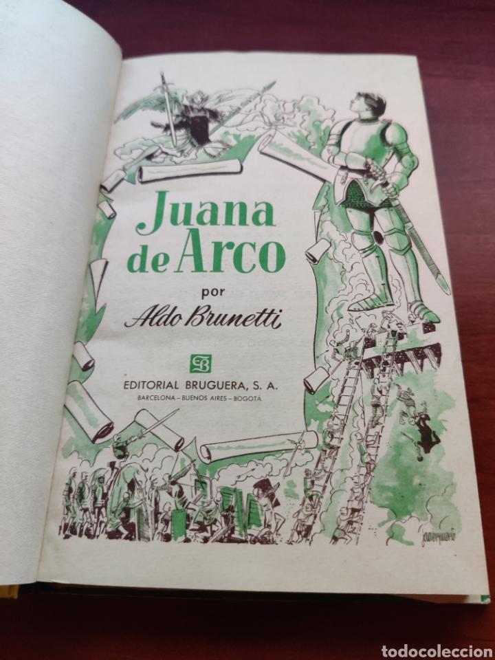 Tebeos: Juana de arco Aldo Brunetti colección historias editorial bruguera año 1961 - Foto 2 - 219669973