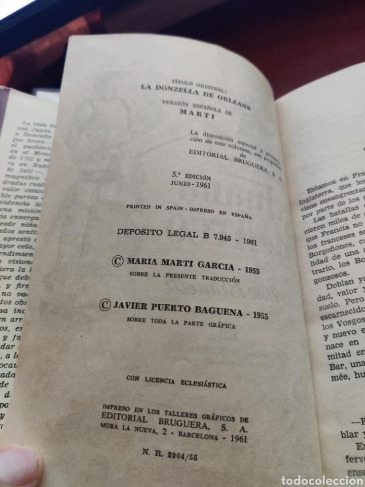 Tebeos: Juana de arco Aldo Brunetti colección historias editorial bruguera año 1961 - Foto 3 - 219669973