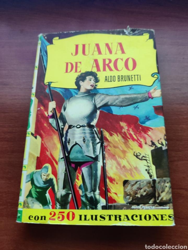 JUANA DE ARCO ALDO BRUNETTI COLECCIÓN HISTORIAS EDITORIAL BRUGUERA AÑO 1961 (Tebeos y Comics - Bruguera - Historias Selección)