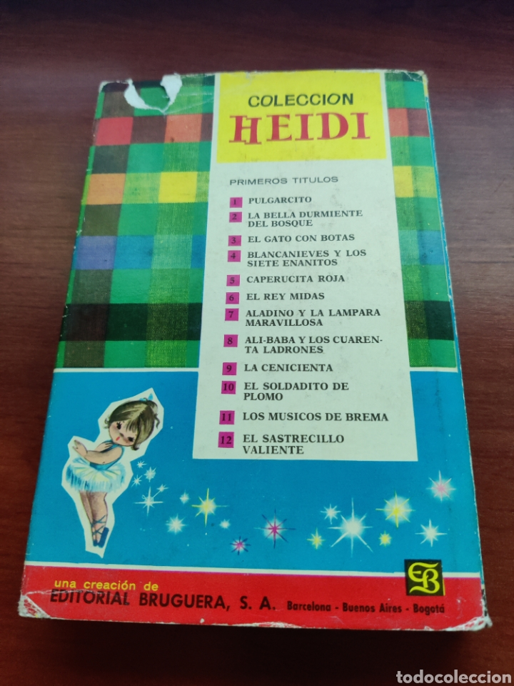 Tebeos: Los músicos de brema colección Heidi bruguera 1963 - Foto 4 - 219670097