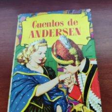Tebeos: CUENTOS DE ANDERSEN COLECCIÓN HISTORIAS EDITORIAL BRUGUERA AÑO 1959. Lote 219670316