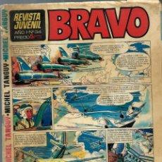 Tebeos: BRAVO Nº 34 - BRUGUERA 1968 - ORIGINAL. Lote 219726927