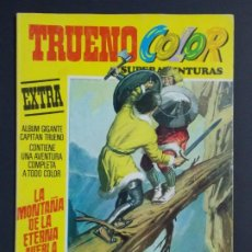 """Tebeos: TRUENO COLOR EXTRA - 2ª EPOCA Nº 7, """"LA MONTAÑA DE LA ETERNA NIEBLA"""", ALBUM AMARILLO, 1975 ...L2063. Lote 219810097"""