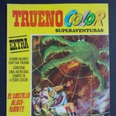 """Tebeos: TRUENO COLOR EXTRA - 2ª EPOCA Nº 14, """"EL CASTILLO ALUCINANTE"""", ALBUM AMARILLO, 1976 ...L2069. Lote 219811925"""