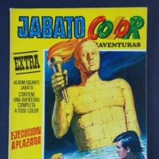 """Tebeos: JABATO COLOR EXTRA - 2ª EPOCA Nº 12, """"EJECUCION APLAZADA"""", ALBUM AMARILLO, 1975 ...L2073. Lote 219813437"""