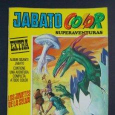 "Tebeos: JABATO COLOR EXTRA - 2ª EPOCA Nº 16, ""LOS JINETES DE LA SELVA"", ALBUM AMARILLO, 1975 ...L2074. Lote 219813593"