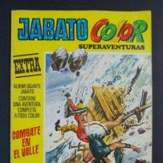 """Tebeos: JABATO COLOR EXTRA - 2ª EPOCA Nº 20, """"COMBATE EN EL VALLE"""", ALBUM AMARILLO, 1975 ...L2075. Lote 219814022"""