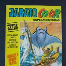 "Tebeos: JABATO COLOR EXTRA - 2ª EPOCA Nº 23, ""¡UNA ISLA INQUIETANTE!"", ALBUM AMARILLO, 1976 ...L2077. Lote 219815485"