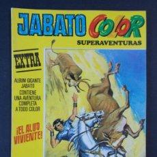 """Tebeos: JABATO COLOR EXTRA - 2ª EPOCA Nº 24, """"¡EL ALUD VIVIENTE!"""", ALBUM AMARILLO, 1976 ...L2078. Lote 219815613"""