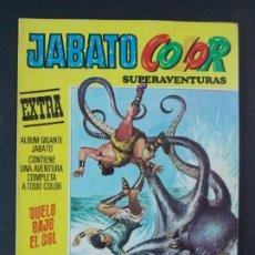 """Tebeos: JABATO COLOR EXTRA - 2ª EPOCA Nº 25, """"DUELO BAJO EL SOL"""", ALBUM AMARILLO, 1976 ...L2079. Lote 219816353"""