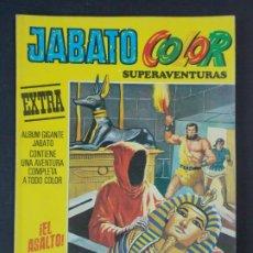 """Tebeos: JABATO COLOR EXTRA - 2ª EPOCA Nº 27, """"¡EL ASALTO!"""", ALBUM AMARILLO, 1976 ...L2080. Lote 219816681"""