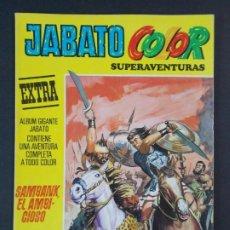 """Tebeos: JABATO COLOR EXTRA - 2ª EPOCA Nº 28, """"SAMBANK EL AMBICIOSO"""", ALBUM AMARILLO, 1976 ...L2081. Lote 219816937"""