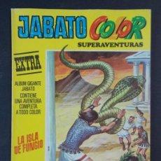 """Tebeos: JABATO COLOR EXTRA - 2ª EPOCA Nº 32, """"LA ISLA DEL FUNGIO"""", ALBUM AMARILLO, 1976 ...L2082. Lote 219817470"""