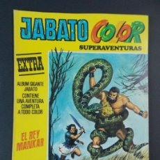 """Tebeos: JABATO COLOR EXTRA - 2ª EPOCA Nº 37, """"EL REY MANKAR"""", ALBUM AMARILLO, 1977 ...L2084. Lote 219818061"""